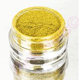 Holografický glitter pigment gold - exclusive