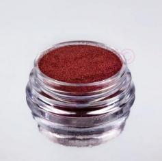 Holografický glitter pigment red - exclusive