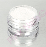 Fingers glitters pigment white - exclusive (zelený odlesk)