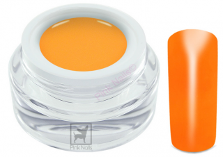 UV gel Neon orange premium 5ml - výprodej - expirace 10/2017
