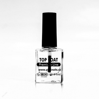 Lak na nehty premium 11ml - Top coat