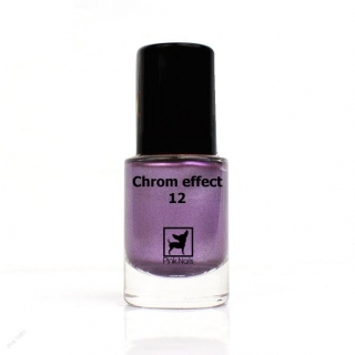 Lak na nehty chrom effect 11ml - 12