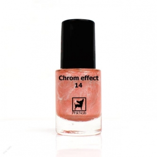 Lak na nehty chrom effect 11ml - 14