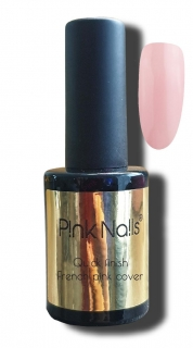 UV Quick finish french pink cover gel lak 10ml