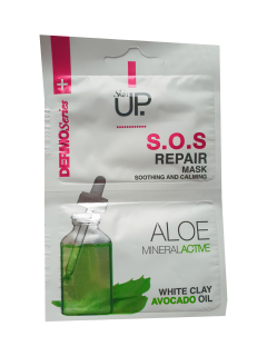 Skin up maska SOS s minerály a aloe 2x5ml