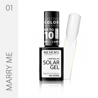 Solar gel 10day lasting 01 Marry me 12ml