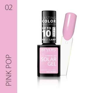 Solar gel 10day lasting 02 Pink pop 12ml