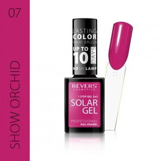 Solar gel 10day lasting 07 Show orchid 12ml