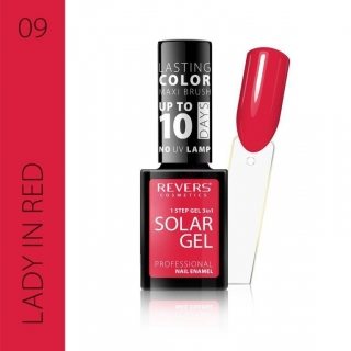 Solar gel 10day lasting 09 Lady in red 12ml