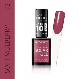 Solar gel 10day lasting 12 Soft mulberry 12ml
